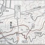 No.108 金山から瓶割峠への登山道について
